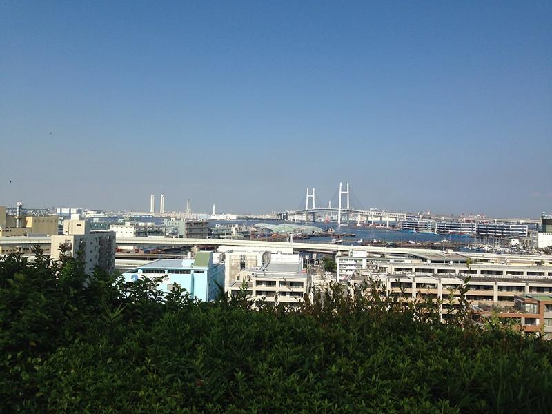 港が見える丘公園から2
