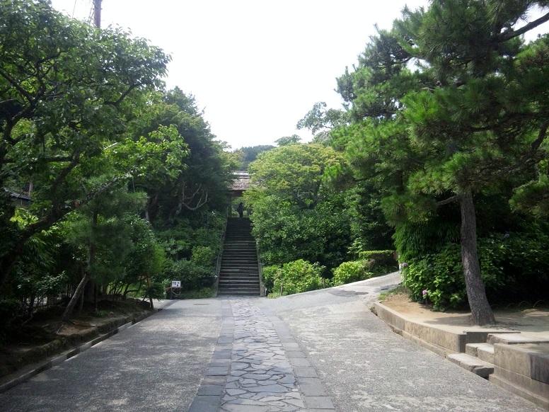 東慶寺参道